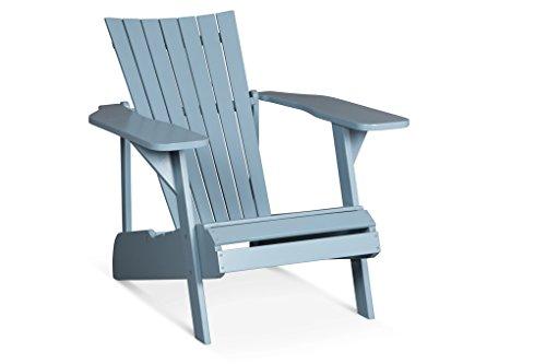 Lanterfant - Adirondack Gartensessel Fred, bearchair, Lounge Sessel, Canadian Deck Chair (Blau)