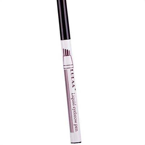 Coco Wasserdicht Natur Langlebige 4 Tipps Flüssig Augenbrauen Farbe Tätowierung Stift Tint-Verfassungs-Kosmetik (Augenbrauen Färben Natürliche)