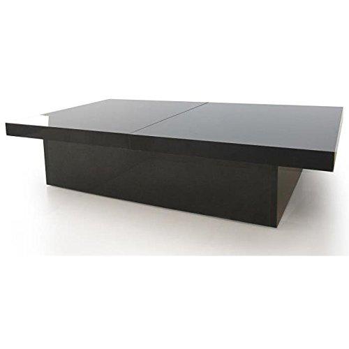 Table basse laquée Noir TANGO