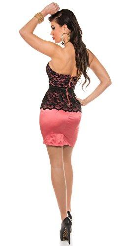In-Stylefashion - Robe - Femme Beige Beige Rose - Corail