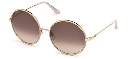 Tod's TO0186 C59 28F (shiny rose gold / gradient brown) Sonnenbrillen