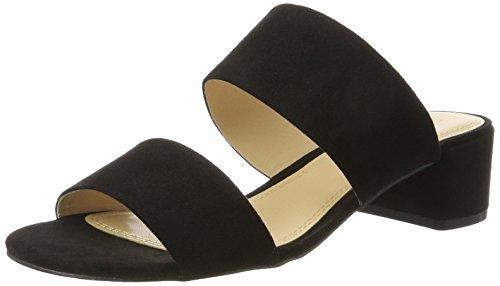 Esprit Ladies Venga Due Sandali Con Cinturino Nero (001 Nero)