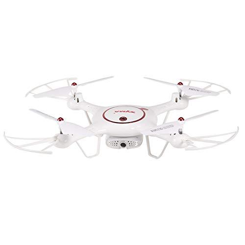 Hobbitos Syma X5UW-D Radio Controlled 90 Degree Rotatable Wi-Fi FPV Camera Drone, Altitude Hold Mode, One Key Take-Off / Landing, App Control RC Quadcopter