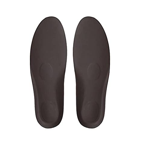 footinsole Inserts pour chaussures à talons Coussinets à talons - Confortable - Leather Brown