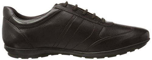 Geox Uomo Symbol B, Oxford Homme Marron (Coffee)