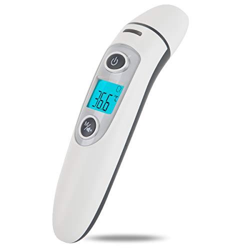 Bébé Thermomètre, Médical Numérique Infrarouge Frontal et Oreille Thermomètre pour Bébé,...