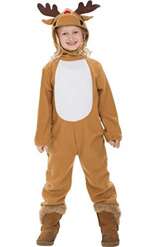 Rudolph Kinder Kostüm - Weihnachten Rentier Rudolph Kinder Kostüm Weihnachten Verkleidung Outfit Medium