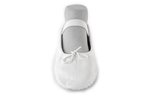 YUMP YUMPZ Balletschuh Moondancer Rosé - Ballettschuhe Aus natürlichem Soft-Leder und Rauledersohle- Turnschläppchen/Gymnastikschuhe NNVg1ZfPAx