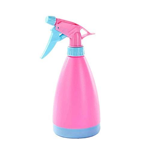 WRYCN Multifunktionale Tragbare Candy Farbe Sprayer, Haushalt Hand Drücken Bewässerung Topf, Kunststoff Gießkanne Bewässerung Gerät (DREI Stücke),pink