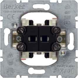 Hager–Meccanismo pulsante doppio marcha-marcha 1t-1t basculante