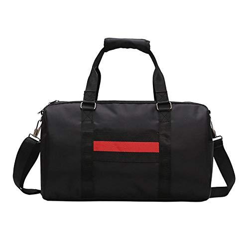 JiDan Damen-UmhängetaschenKlassische Sporttaschen Women'S Bag Yoga Bag Dry And Wet Separation Shoes Shoulder Bag Training Package Cylinder Short-Distance Mobile Travel Bag -