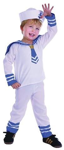Costumes Pour Costume World Book Day - Sailor Boy enfant Blanc Déguisement Costume de