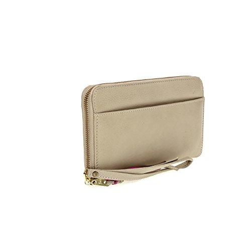 Fab by Fabienne - 3 letter logo purse, Borsa A Mano da Donna Beige(creamy camel)