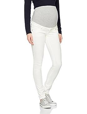 MAMALICIOUS Mlsigga Slim Plain Jeans B. , Pantalones Premamá para Mujer