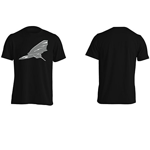 Regalo divertente di novità del mare di boeard di surf Uomo T-shirt f505m Black