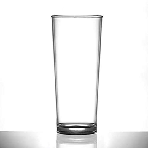 juego de 4 Vasos de pl/ástico reutilizable Premium Elite vasos de policarbonato Rocks 8 oz//230 ml policarbonato pr/ácticamente irrompible de pl/ástico Ideal para fiestas al aire libre y Catering Event