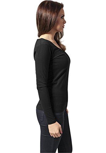 Urban Classics Ladies Basic L/S Tee Black