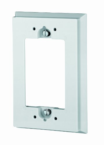 Preisvergleich Produktbild Leviton 6197-W Shallow Wallbox Extender for GFCI/Decora Device, White by Leviton