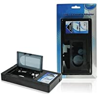 Systafex® Videorecorder VHS-C Kassette Adapter Kassettenadapter für VHS- Recorder (Achtung - Nicht geeignet für Video8, Hi8, DV etc.)