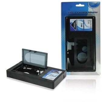 Systafex® Magnétoscope VHS-C/VHS/cassette Adaptateur Pour Enregistreur (warning-not Convient pour DV Video8, Hi8, etc.).