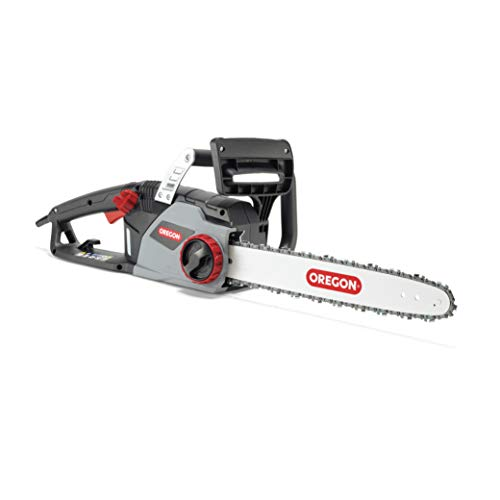 31CrFJzPwWL. SS500  - Oregon CS1400 Electric Chainsaw with 16-Inch (40 cm) Guide Bar DuraCut Saw Chain, 2400 W