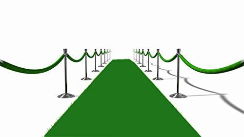 Green Carpet Runner, Wedding Aisle Runner Teppich Runner Breite 1m Dekorative Teppich,50M
