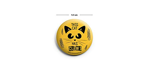O Womania Badge: Yellow Color