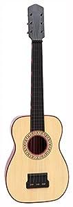 Bontempi- Guitarra española con Tabla armónica imitación Madera, 61.5 cm (Spanish Business Option Tradding 20 6092)