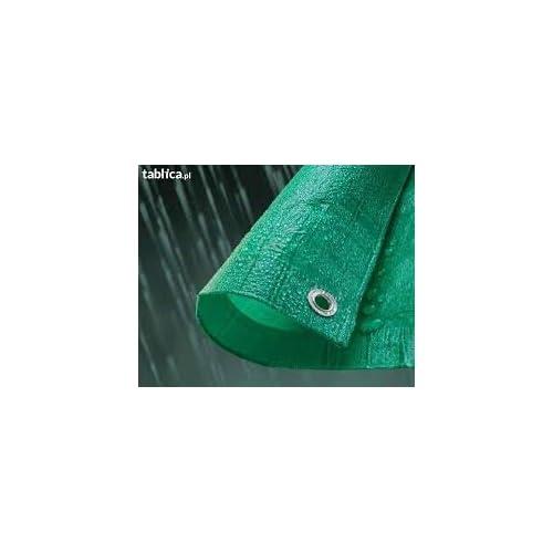 Green Durable 90g/m Quality Tarpaulin/Ground Sheet (2mx3m)