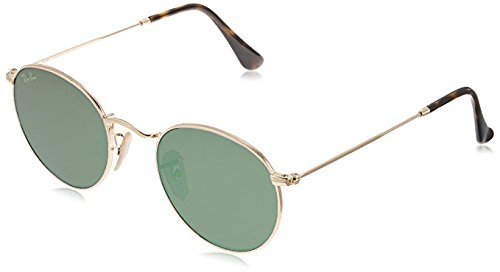 Ray-ban unisex - adulto rb 3447 occhiali da sole, oro (gold), 50