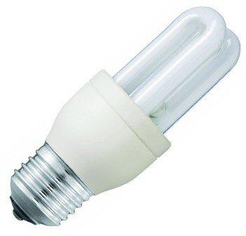 Philips 8011661011W E14warmweiß Leuchtstofflampe-Leuchtstofflampen (Stick, E14, weiß, warm weiß, A) -