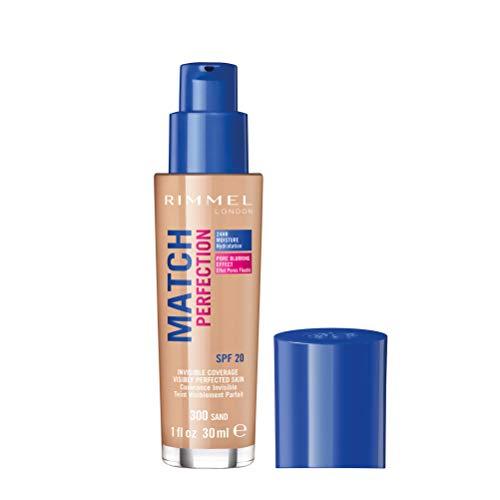 Rimmel London Match Perfection Foundation Base Maquillaje