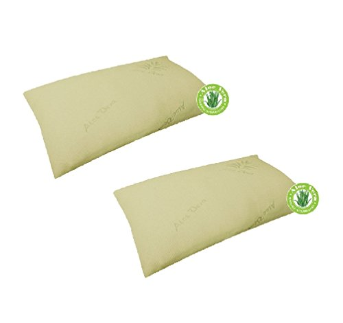 Price comparison product image Memory Foam Contour Pillow Shredded Pillow Aloe vera Cover Head/Neck/Back Support