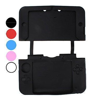 kaufen Schutzmaßnahmen Silizium Fall für Nintendo 3DS lite (verschiedene Farben) , Schwarz
