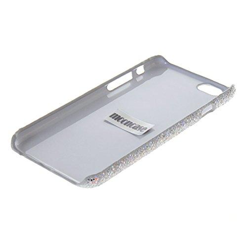 MOONCASE Hard Shell Cover Housse Coque Etui Case Pour Apple iPhone 6 Plus Rose Argenté