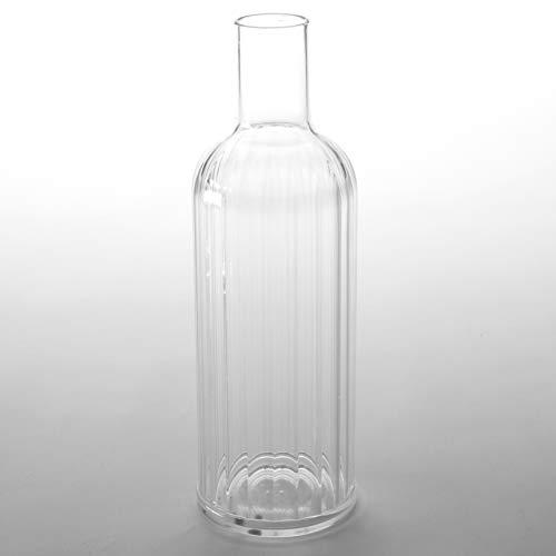 American Metalcraft wb33Wasser Flasche, Kunststoff, Fassungsvermögen 33oz, 3-1/5,1cm Durchmesser, 11-1/10,2cm Höhe, klar - 33oz-wasser-flasche
