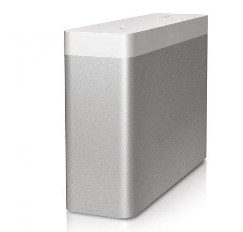Buffalo SSD-WA1.0T-EU DriveStation Mini externe Festplatte 1TB (6,3 cm (2,5 Zoll), 2x Thunderbolt, USB 3.0) silber/weiß - 1 Tb Drivestation Usb