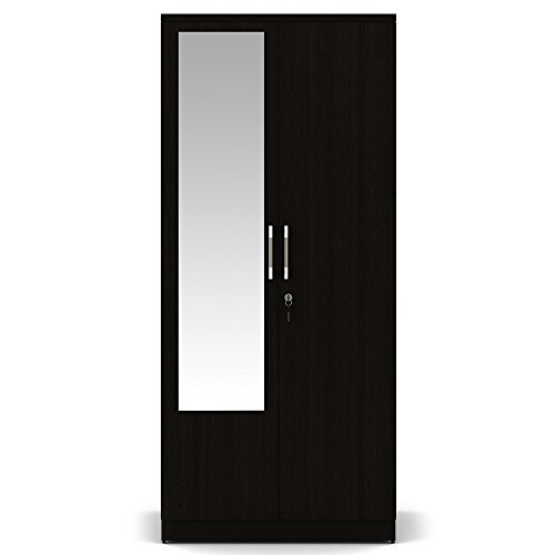 Spacewood Texas 2 Door Wardrobe (Woodpore Finish, Natural Wenge)