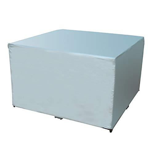 LQQGXL Telo copridivano per mobili e poltrona per esterno telone impermeabile alla protezione solare antipolvere Telone impermeabile (dimensioni : 120x120x75cm)