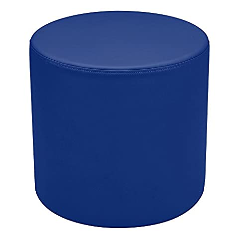 'sprogs SPG-A Kids vinyle Soft Seating Round Stool, 18