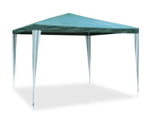 3m x 3m Water Resistant Party Tent Gazebo Event Shelter in Green