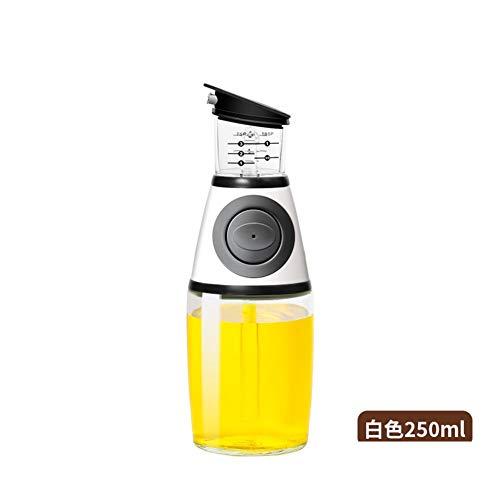 Mengenflasche für Ölflasche, Ölbehälter, Haushaltsöl, Spill Glas, Kontrolle, Saucen, Essig, Sojasauce, Flaschen, Küchenbedarf, Öltopf C -