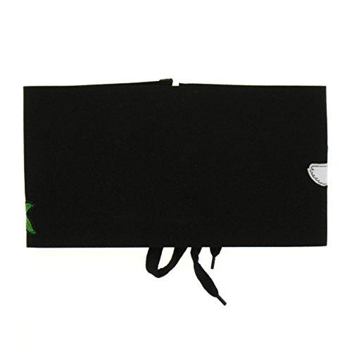 Fashiongen - Ceinture extra large laçage ELEANORE Noir