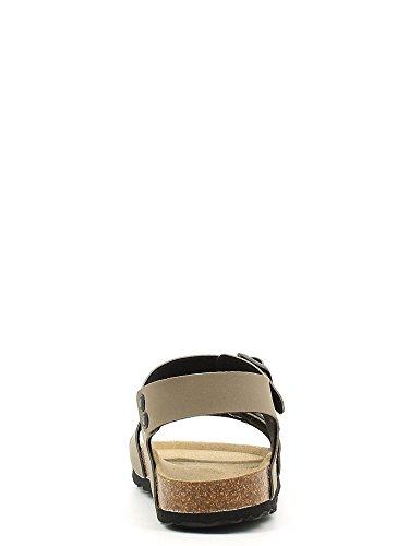 Grünland LUMIÈRE SB0115 24/30 bleues sandales militaires enfant boucles Birk TORTORA