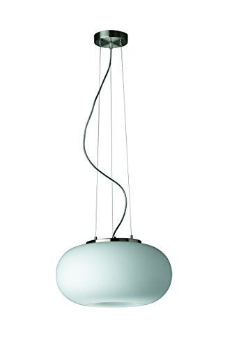 Philips Foch Pendant - Matt Chrome (1 x 100 W, 230 V)