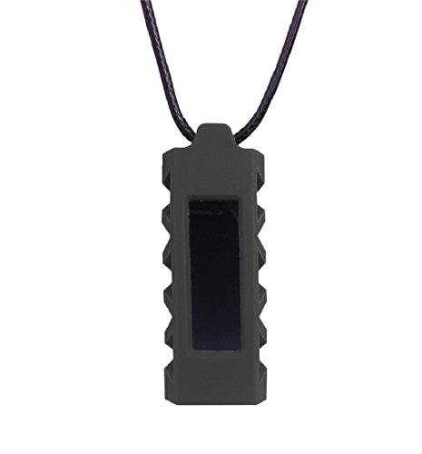 Preisvergleich Produktbild Tonsee Halskette mit Anhänger Halter Cover Silikonhülle für Fitbit Alta Tracker (schwarz)