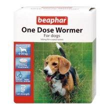 Beaphar One Dose Wormer Medium Dog 2tabs