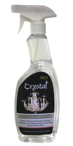 'Crystal' Spezial Reiniger 750ml für Kronleuchter, Lüster, Wandlampen, Candelaber