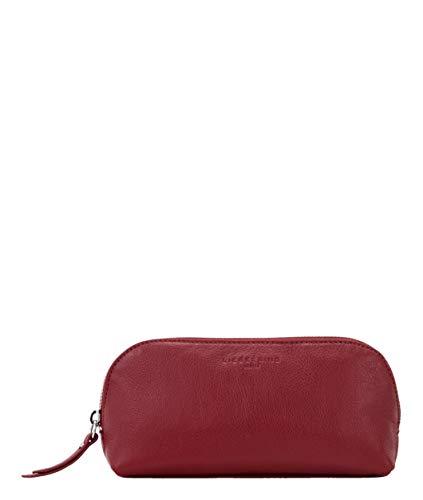 Liebeskind Berlin Damen Basic Slg - Cosmic Cosmetic Pouch Taschenorganizer, Rot (Dahlia Red), 7x10x22 cm