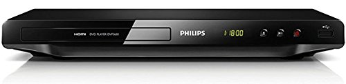 Philips DVD-3690 All Region Free 1080p Up-Converting DVD Player, Plays PAL/NTSC DVD's 110/220V Dual Voltage With Tmvel 220 Volt Plug